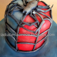 Spider Man 3 It?s all about chocoholics these days....Chocolate mud cake with dark chocolate buttercream.