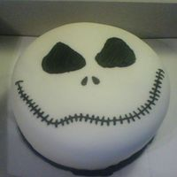 Jack Anyone who is a fan of the Nightmare Before Christmas knows Jack :) My 15 year old nephew asked me to make this cake for the Halloween...
