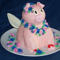 When Hawaiian Pigs Fly This was for my daughter's friend who was having a Hawaiian themed birthday, and loves flying pigs. If I had more time I would have...
