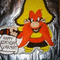 Yosemite Sam Cake  This was my first attempt at a character cake. My husband absolutely loves Looney Tunes, especially Yosemite Sam. I had to look high and...