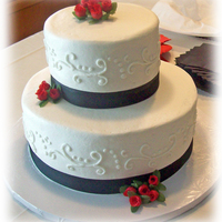 2-Tiered Wedding Cake