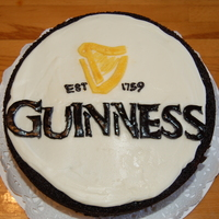 Guinness Cake  I made this for my husband to take to work on St. Patrick's Day. He LOVES Guinness. I used the guinness cake recipe. He loved it and...