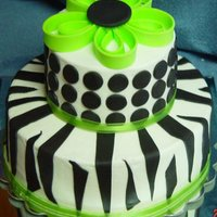Zebra Stripes Inspired by my friend's handbag.