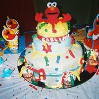 My Grandson's 1St Birthday Cake Carlitos
