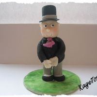 Groom I hope I spelled it right.....50/50 marcipan and sugarpaste