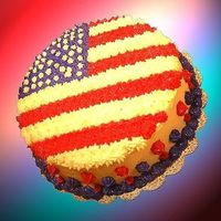 Stars And Stripes!   all buttercream