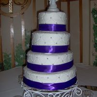 The First Wedding Cake I Ever Did.