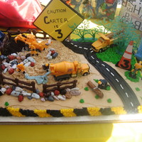 Construction Cake   Got the idea from someone on here! Thank you!