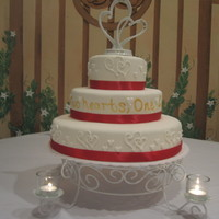 Red And White Wedding