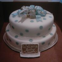 Img_0186.jpg   Fondant with gumpaste buttons, bows, and name plate