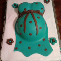 Baby Shower Brown/teal