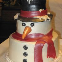 Frosty The Snowman Made for my company Christmas party.