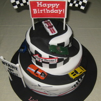 Race Car Cake race car cake for a little boy turning two!