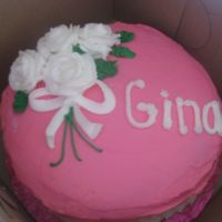 Pink Rose Cake Made this for my neice for her birthday.
