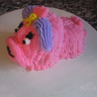 Dog Cupcakes This is made with thee cupcakes.