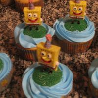 Spongebob Cupcakes Made these for my nephew's 7th birthday party.