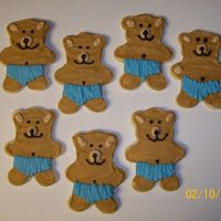 Teddy Bear Cut-Out Cookies