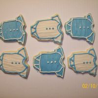 Baby Onesies Cut Out Cookies
