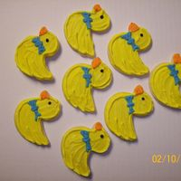 Chick/rubber Ducky Cut-Out Cookies