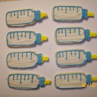 Baby Bottle Cut-Out Cookies
