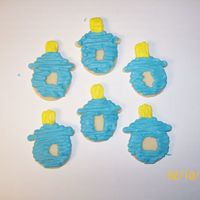 Pacifier Cut-Out Cookies