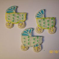 Baby Carriage Cut-Out Cookies