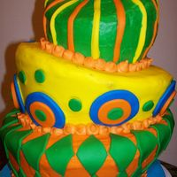Topsy-Turvy This was my first topsy-turvy; it was actually my first attempt at any stacked cake:) I used the Melvira method to smooth out the...