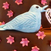 Bluebird I made this bird (and a second one) to go on a Valentine's throwdown cake. I found the idea in a polymer clay book at the library. I...