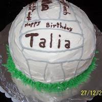 Volleyball Cake