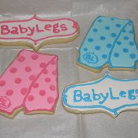 Babylegs   These are cookies made for one of my favorite companies!!Sugar Cookies with RI