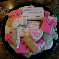 Orthopaedic Cookies Cookies for the Orthopaedic Clinic that helped me through two knee surgeries. Ideas for some of the cookies from Kneadacookie, chqtpi, Mel...