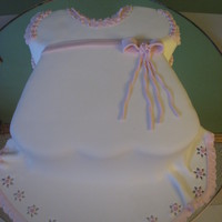 Faldellin Baby tradition baby dress. Alldetails are fondant.