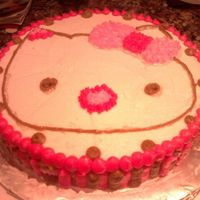 Hello Kitty This cake was for my niece's 8th bday. It was a small cake, nothing big. I just wanted to have a little something for her. She loved...