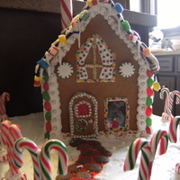 Gingerbread House my first attempt at a gingerbread house followed tutorial off allrecipes
