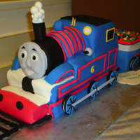 Thomas The Tank Engine There were so many cakes to get ideas from, but one stood out when I got a last minute request for a flavor change. Since the yellow cake...