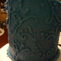 Blue Just For Fun just having fun with this cake