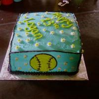 Logan's Cake This cake was for my neice that loves to play sports, so i made this for all the sports she plays. All b/c.
