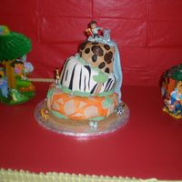 Safari Cake This cake was for a birthday boy. Thanks for looking