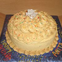 Caramel Cake For Friends At Work This is a 10 in caramel cake that I made for my co workers that all have birthdays in the same week. So many times I re iced this cake b/c...