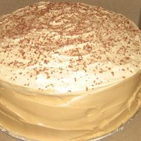 Caramel Cake So...this was my attempt to make a from scratch caramel cake just like my Grandmother used to make. It was delicious!! Fluffy whipped...