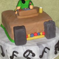 Dj Cake Did this cake for a friends birthday he's a DJ