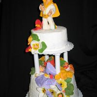 Elvis, Hawaii I did this cake for my mothers birthday my 2nd Elvis cake this week she love Elvis and she loved the cakeElvis and all the flowers are made...