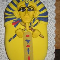 King Tut I did this Birthday cake for a friend this one was a lot of fun to do