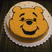Wilton Level One - Winnie The Pooh Finally decided to take some cake decorating courses to get the basics and some advanced instructions. This is the first week of Wilton...