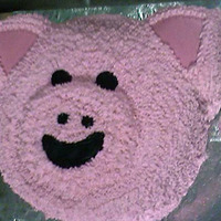Pig Cake   For a barn themed baby shower.