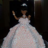 Princess Doll Cake This is a doll cake I made at one of the extra cake classes I asked my Instructor to do Because I wanted to learn how to do 3D doll cakes,...