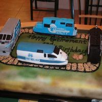 The Evolution Of The Train Engine This was a cake I did for a Retirement/Birthday, the guy worked for the train company for over 30 years and his invitation had pictures of...
