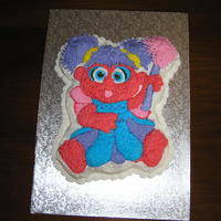 Abby Cadabby My first character cake. Obviously not original, but my 2 year old liked it.