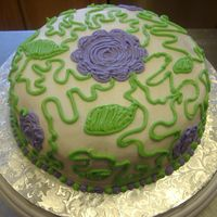 This Years B-Day Cake First time using the viva method. Loved it. Thought I try some a few different techniques and colors just for fun. All Buttercream.