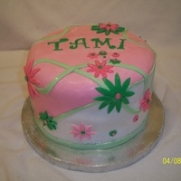 Tami's Cake Loved the way this turned out! It was a blast to make!